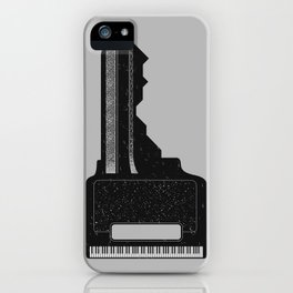 Piano Key. iPhone Case