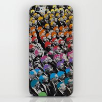 talking heads iPhone & iPod Skins featuring Heads by Canson City