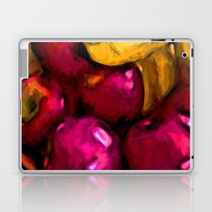 Still Life with Pink Apples and Yellow Bananas Laptop & iPad Skin