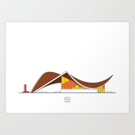 CCS_Táchira Art Print