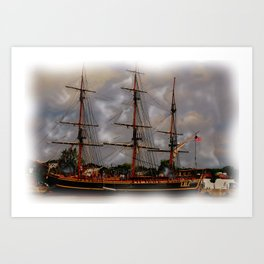 the Tall Ships Art Print