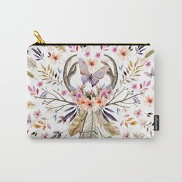 Boho nature circle Carry-All Pouch