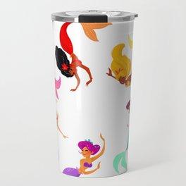 Mermaid raibow! Travel Mug