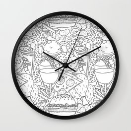 snack time! Wall Clock