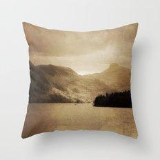 Lake George II Throw Pillow