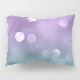 Mermaid Colored Bokeh #1 #shiny #decor #art #society6 Pillow Sham