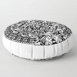 Mayan Calendar Floor Pillow