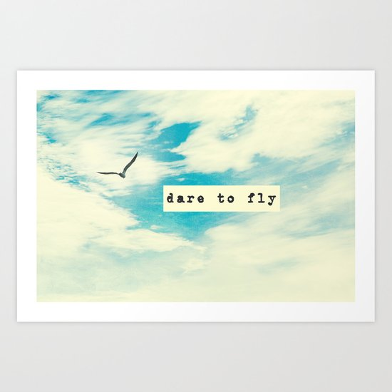 Dare to Fly II Art Print