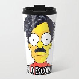 Pablo Escobart (Pablo Escobar parody) Travel Mug
