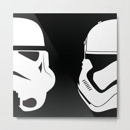 Imperial helmets Metal Print