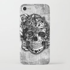 Sugar and Spice grunge candy skull. iPhone 7 Slim Case