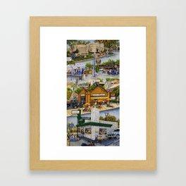 Memories of Brookside Framed Art Print