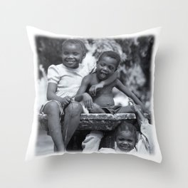 Zanzibar Fountain Throw Pillow