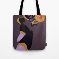 bass Tote Bags featuring Bass by JHTY