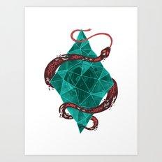 Mystic Crystal Art Print