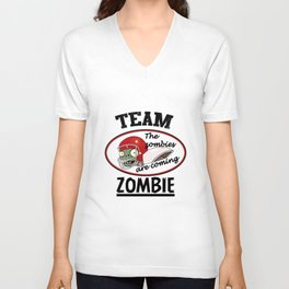 Team Zombie Unisex V-Neck