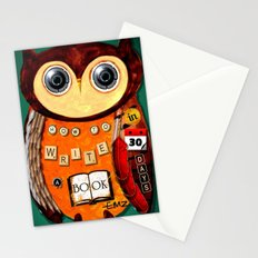 Editorial Owl  Stationery Cards