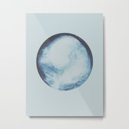 watercolor moon Metal Print