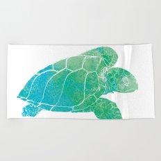 Sea Turtle II Beach Towel