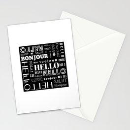 Hello, Hi Stationery Cards