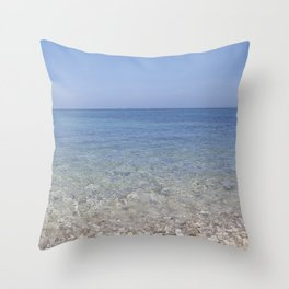 Croatian Sea Throw Pillow