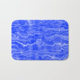 Egyptian Marble, Lapis Blue Bath Mat