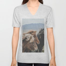 Thingeyrar, Iceland Unisex V-Neck