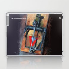 mousetrap / pop art, still life, object Laptop & iPad Skin