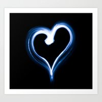 Love Of Blue Art Print