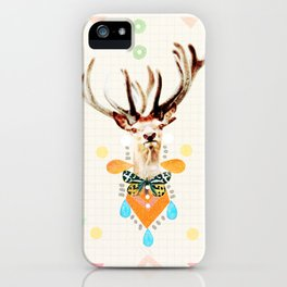 what's the matter dear? iPhone Case