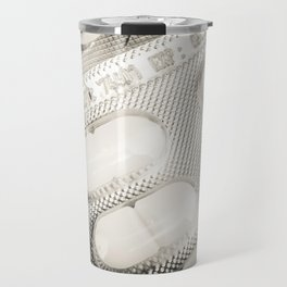 Medicine Pills Background Travel Mug
