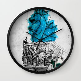 Highlighting the fake objects Wall Clock