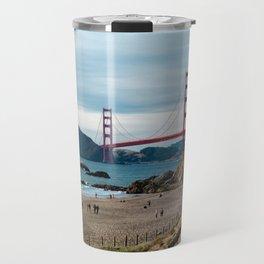 Golden Gate at Baker Beach Travel Mug