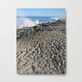 beach 01 Metal Print