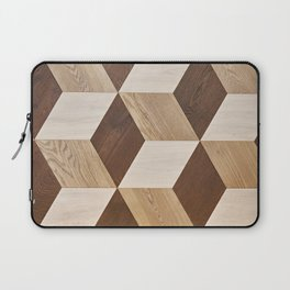 Wooden wall panel Laptop Sleeve