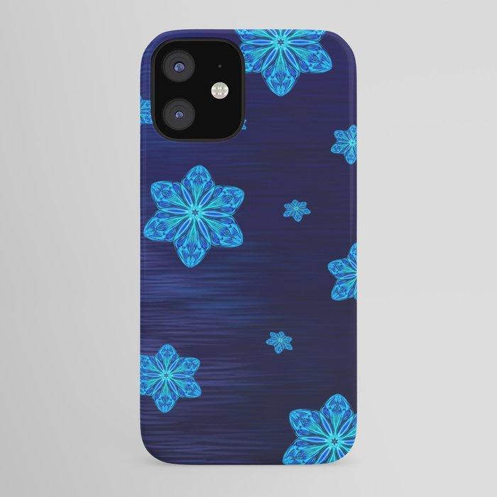 Snowy Cerulean Sea iPhone Case