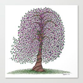 A tree of legend Canvas Print