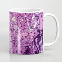 Monochrome Purple Coffee Mug