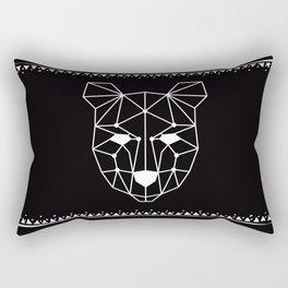 Totem Festival 2015 - White & Black Rectangular Pillow