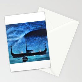 Viking Maidens reply Stationery Cards