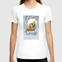 bond T-shirts featuring Bond Girl by Fernando Cano Zapata