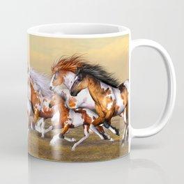 Wild Horses Herd Coffee Mug