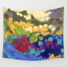 Tide Pool Reflections Wall Tapestry