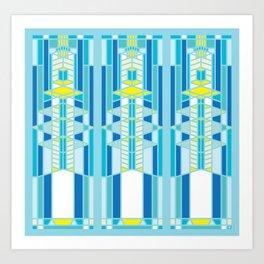 FL Wright Design Art Print