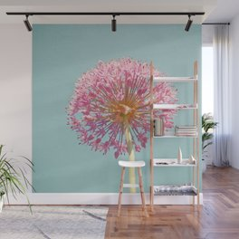 Pink Allium Wall Mural