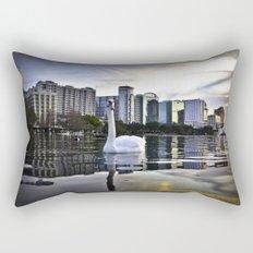 Lake Eola - Orlando, FL Rectangular Pillow