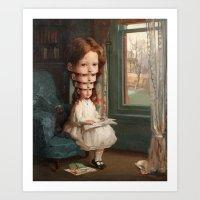 Ego / self-esteem (2015) Art Print