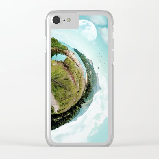 Nano Isle Clear iPhone Case