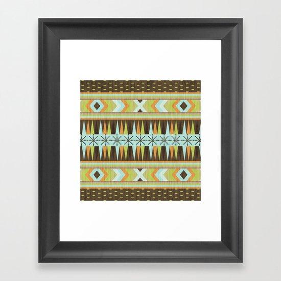 Patternista. Framed Art Print