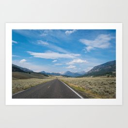 Yellowstone National Park Art Print